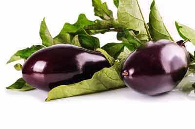 aubergine weinig gebruikte groenten