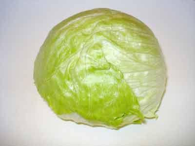 ijsbergsalade nitraat