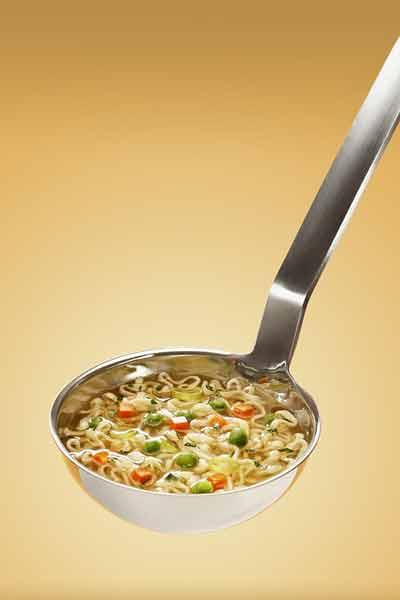 noodles met groenten