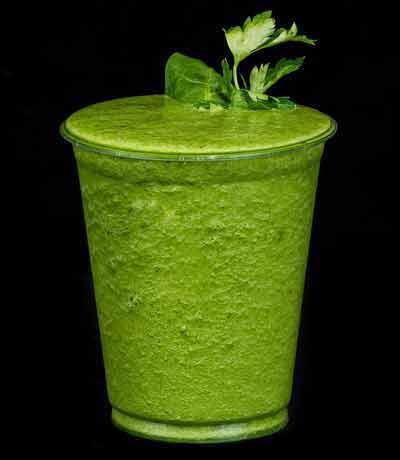 smoothie met groene groenten