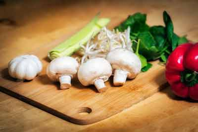 snellere stofwisseling met groenten