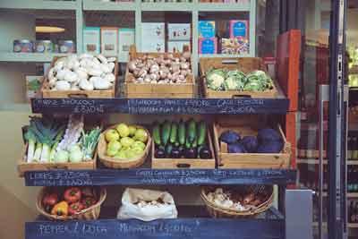 groenten bij het afvallen