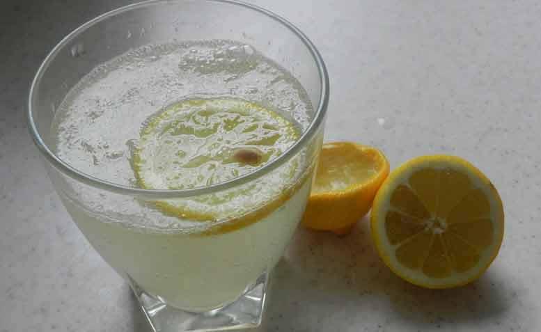 Afvallen met citroensap