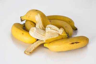 afvallen bananen