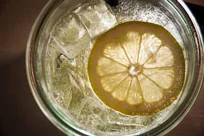 afvallen met water en citroensap