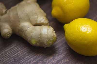 citroen en gember stimuleren het metabolisme