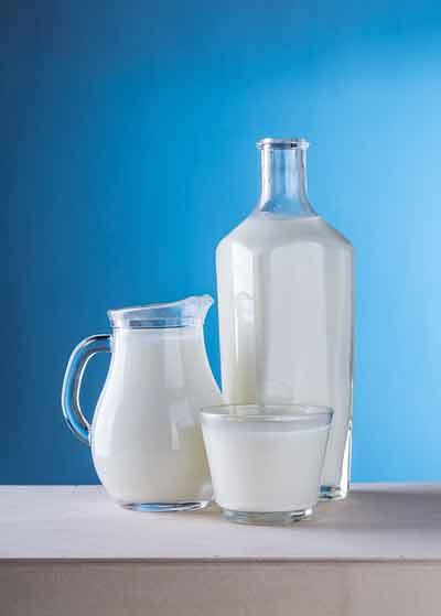 melk vermindert de opname van ijzer