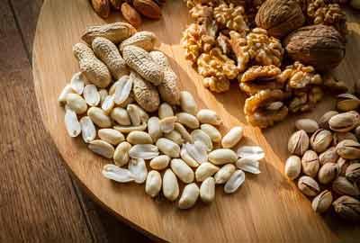 noten onverzadigde vetzuren