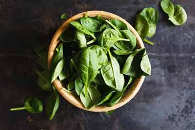 spinazie ijzervoeding