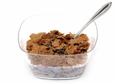 ontbijtgranen vezels
