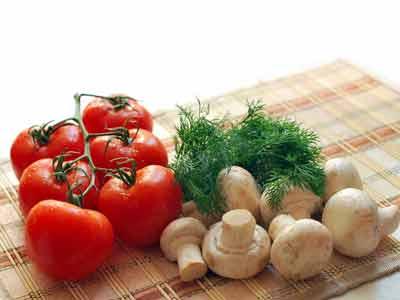 vezels groenten