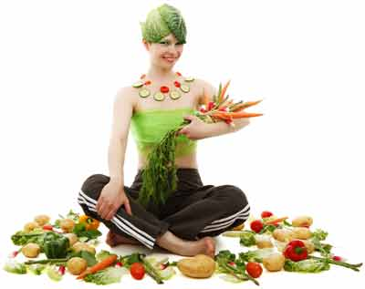 vezelrijke voeding tegen buikvet