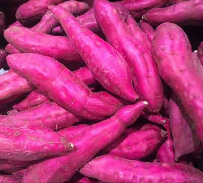zoete aardappel vitamine A