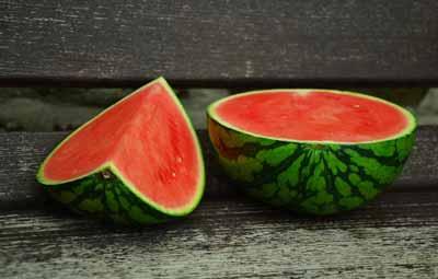watermeloen ijzer