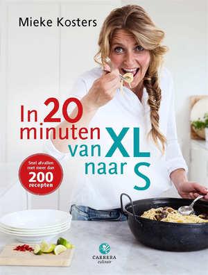 in 20 minuten van XL naar S best verkochte kookboeken lijst