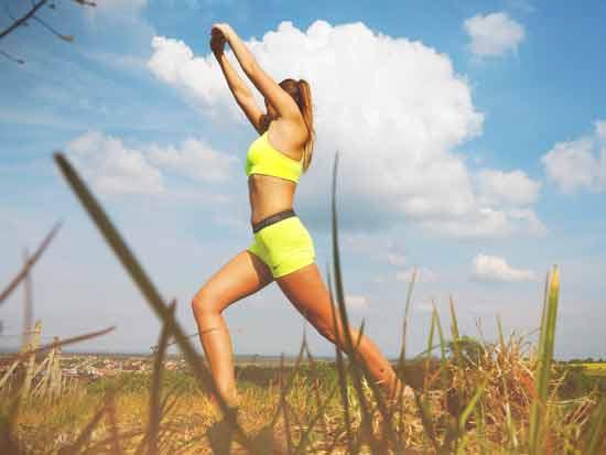 stress sport en afvallen