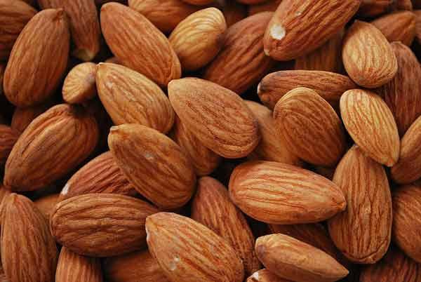 amandelen magnesium voedingsmiddelen