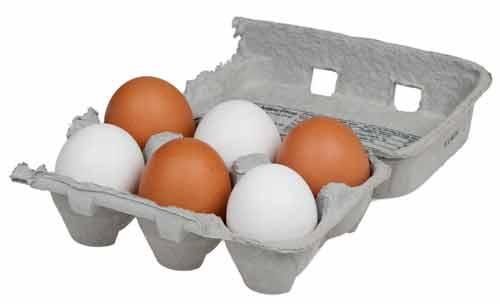 vitamine b gebrek eieren