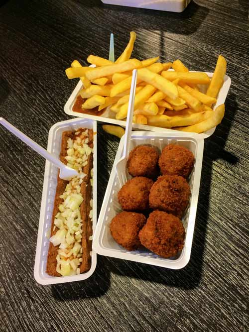 fastfood veel zout