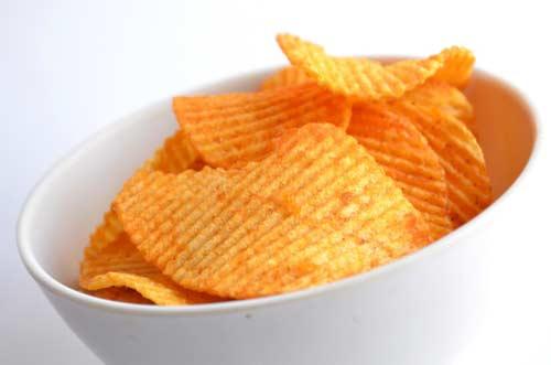 chips aardappelen ongezond