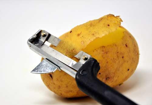 schil aardappelen gezond