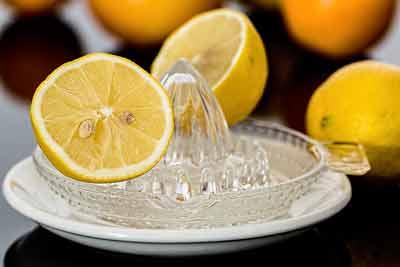 citroensap longen reinigen