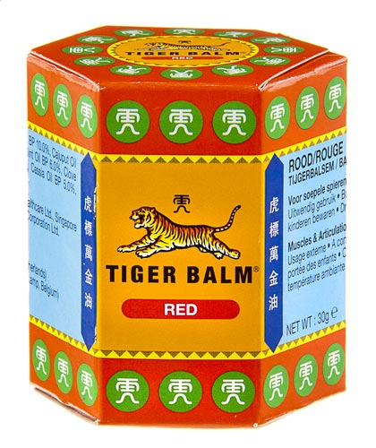 tijgerbalsem rood