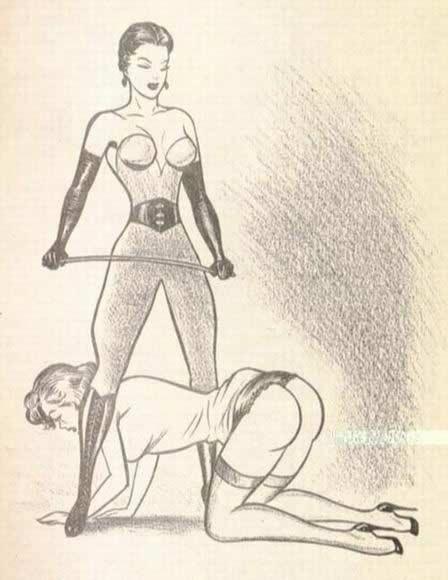 gedomineerd vrouw